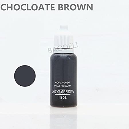 23 Colors Optional Tattoo Ink Permanent Makeup Paint 15ml Cosmetic Color Tattoo Ink Set For Eyebrow Lip Color Body Makeup (OLIVE) AISIMA
