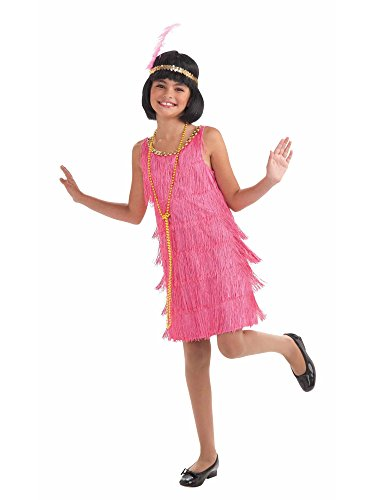 Little Miss Flapper Girl Kids Costume (Flapper Girls Dresses)