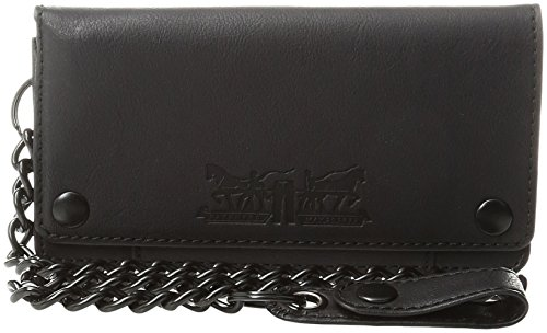 Levis Mens Trucker Wallet Chain