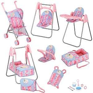 Amazon Com Graco Princess Baby Doll Deluxe Play Set Toys