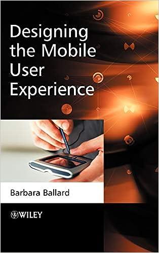 Amazon Com Designing The Mobile User Experience 9780470033616 Ballard Barbara Books