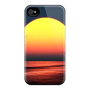 New Premium Amoyi Sunset 27 Skin Case Cover Excellent Fitted For Iphone 4/4s