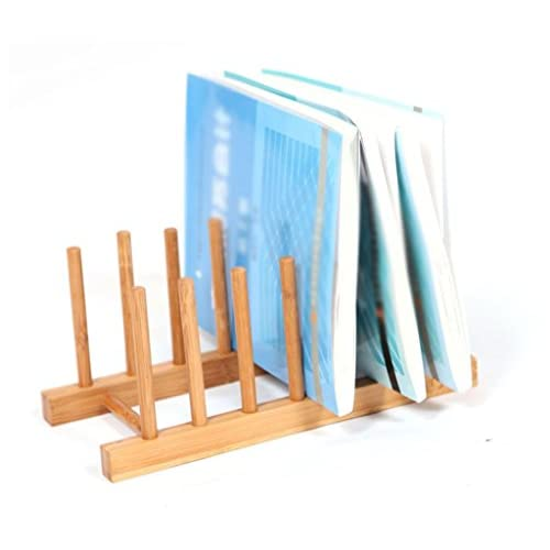 DFHHG® Étagère, porte-gobelet Porte-vaisselle Bamboo Anti-corrosion durable 27 * 12 * 12Cm durable