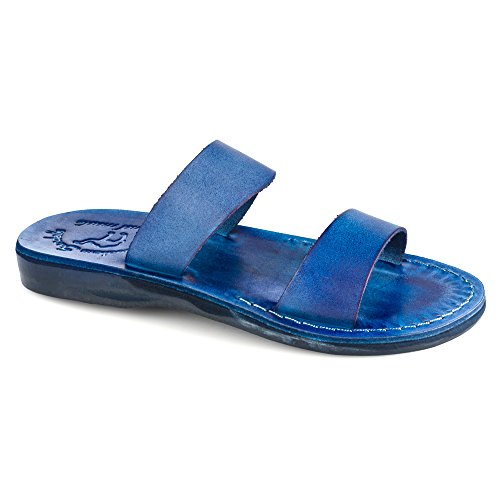 Rubber Blue Women's Aviv Sandals Slide Jerusalem q0SZnZ