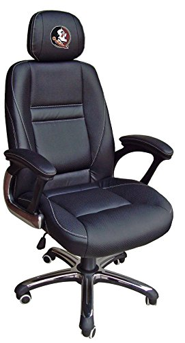 NCAA College Florida State Seminoles Leather Office Chair