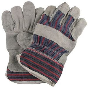 Langley Pack of 10 pairs Canadian Rigger Gloves Langley Steelworks