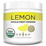 KOYAH - Organic Freeze-dried Lemon Powder (1 Scoop = 1 Lemon Wedge):...