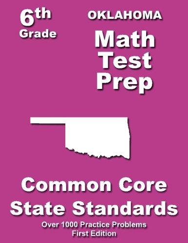 Oklahoma 6th Grade Math Test Prep: Common Core Learning - 6 Oklahoma