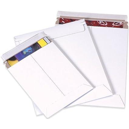 Aviditi RM4SS Self Seal Flat Mailer, 15' Length x 12-3/4' Width, White (Case of 100) by Aviditi