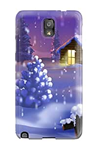 Galaxy Note 3 Case Slim [ultra Fit] Hispanic Christmas Traditions Protective Case Cover