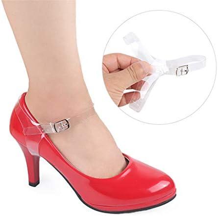 シューズストラップ 靴ひも 紐 靴脱落防止 バックル付 クリア