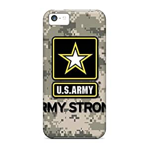Iphone 5c JkA21114kLKw Provide Private Custom Vivid Army Pattern Shock Absorption Hard Cell-phone Cases -cases-best-covers