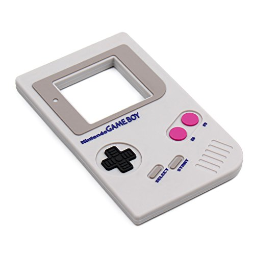 Bumkins Nintendo Silicone Teether, Game Boy