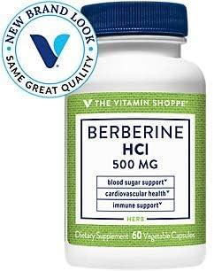 The Vitamin Shoppe Berberine HCL 500MG