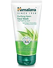 Himalaya Purifying Neem Face Wash Gives You Clear, Problem-Free Skin, Removes Excess Oil and Impurities Without Over-Drying the Skin - 50 Ml.
