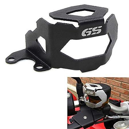RONSHIN Auto Cubierta de la Taza de Aceite del Protector del dep/ósito de Fluido de la Bomba del Freno Delantero de la Motocicleta para BMW F800GS F700GS F650GS Negro