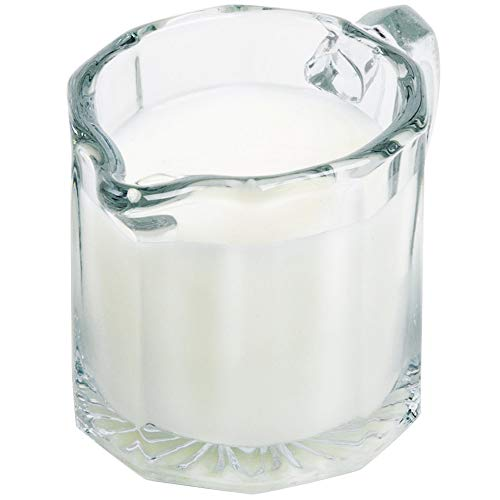 - Classics Collection Glass Creamer for Coffee & Tea or Maple Syrup Serving 2.5 oz