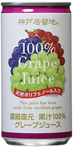 Kobe settlement grape 100% 185gX30 this by Tominagaboeki