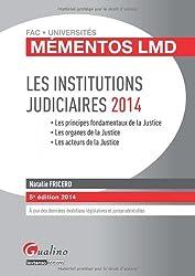 Les Institutions judiciaires 2014
