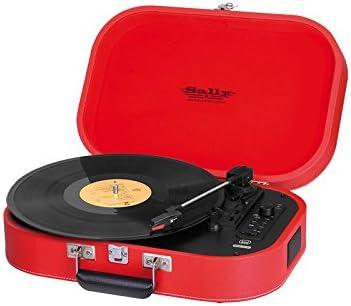 Tocadiscos Portatil Sally MP3 USB Bluetooth Trevi TT 1020 BT Rojo ...