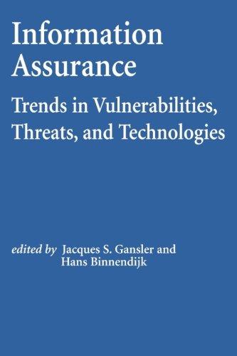 Download Information Assurance: Trends in Vulnerabilities, Threats, and Technologies ebook