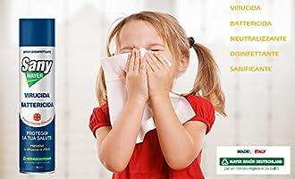 Aerosol Sanymayer desinfectante higienizante contra virus ...