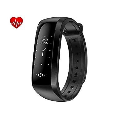 Smart Band, impermeable reloj inteligente pulsómetro actividad fitness Tracker pulsera Podómetro Pulsera inteligente Stop reloj