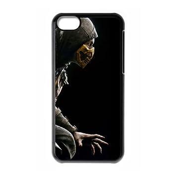 Mortal Kombat X Scorpio Ninja Pose funda iPhone 5c caja ...