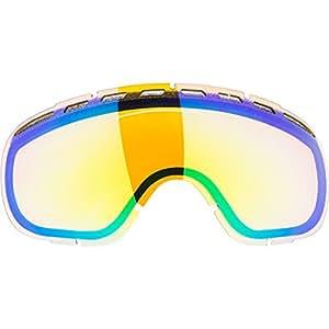 Dragon Rogue - Lentes de repuesto para gafas de esquí, color verde ionizado