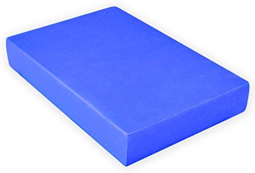 YogaAccessories 2'' Foam Yoga Brick - Blue