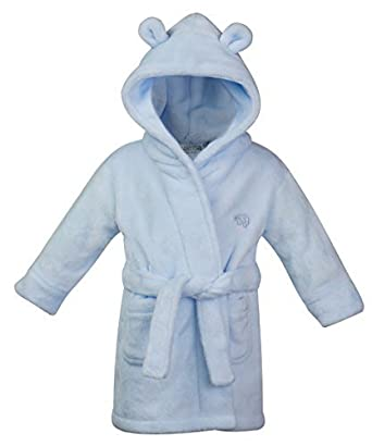 Childrens/Toddlers Soft Fleece Dressing Gown ~ 6-24 Months
