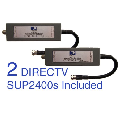 Band Converter (DIRECTV SUP-2400 2 Pack B-Band Converters BBC Module 2 Pack)