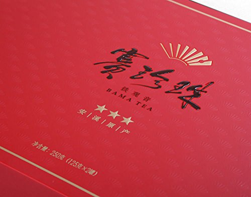 Bama tea Pearl Buck NongXiang Tieguanyin tea Anxi origin Oolong tea 250g八马茶业赛珍珠