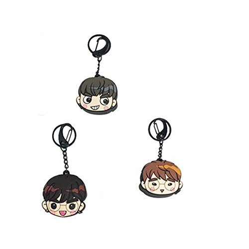Sport Do GOT7 Kpop Keychain - Key Ring Group Portrait Hot Gifts for Fun Idol Rings Packs