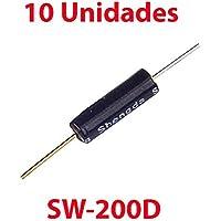 10X Sensor Inclinación Vibracion SW-200D Interruptor Bola Doble