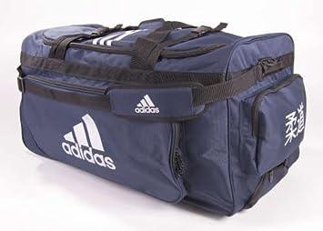 Adidas - Bolsa de Deporte con Ruedas Azul Karate: Amazon.es ...