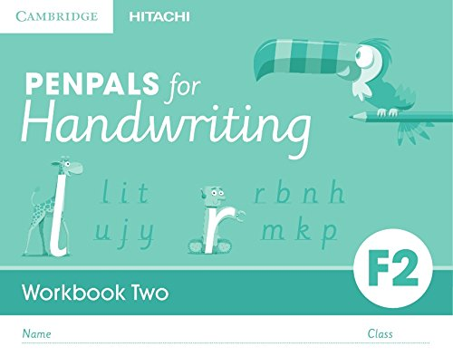 amazon com penpals for handwriting foundation 2 workbook two pack