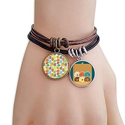 SeeParts Easter Religion Festival Egg Flower Heart Bracelet Rope Doughnut Wristband Estimated Price £9.99 -