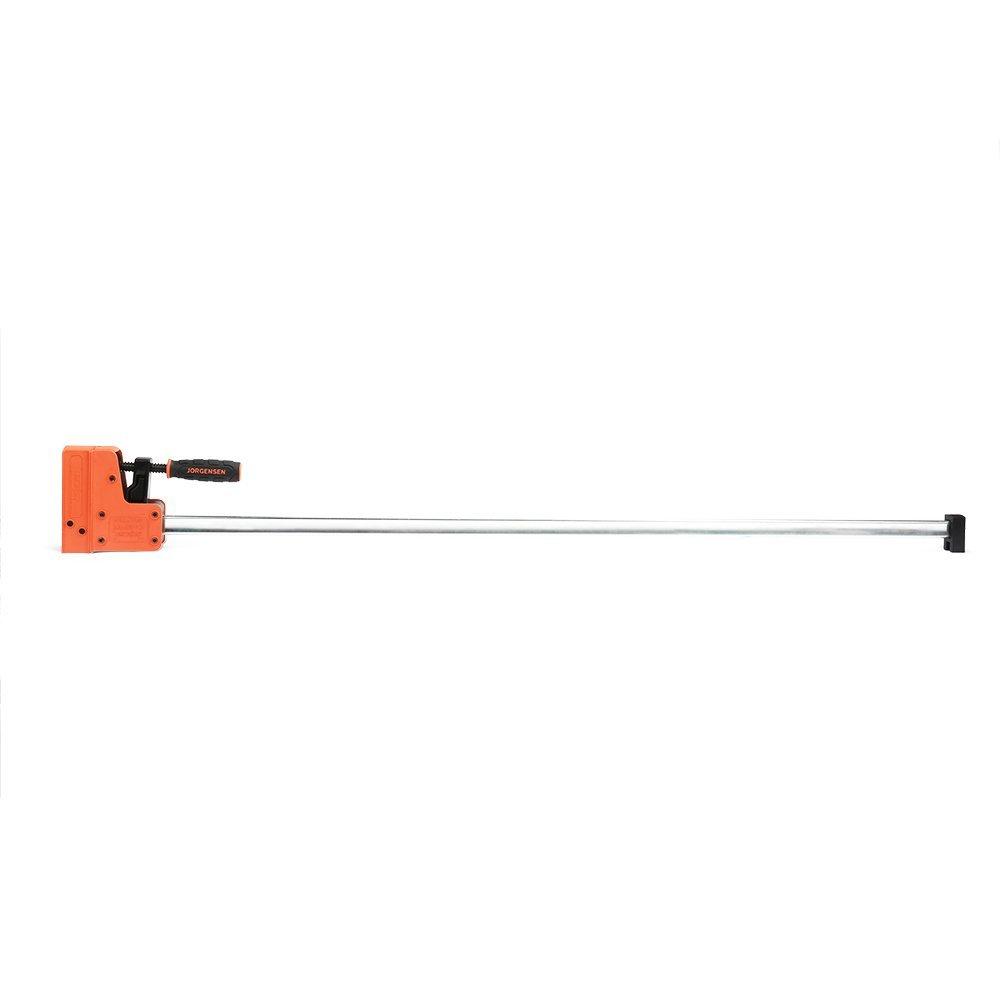 JORGENSEN 8048 Cabinet Master 48 Inch 90 Degree Parallel Steel Bar Clamp
