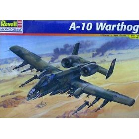855430 1/72 A-10 Warthog (Turbo Tank Support)