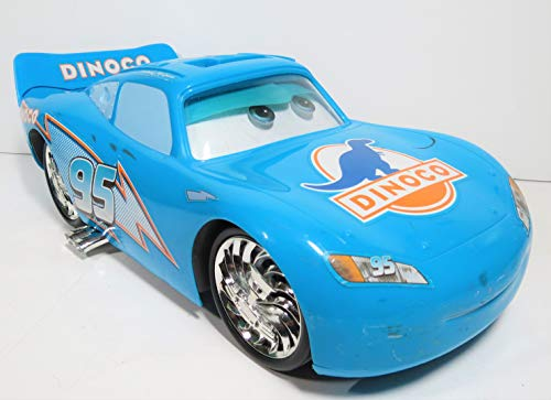 (Cars Dinoco Bling Bling Talking Lightning McQueen Deluxe Disney Pixar)