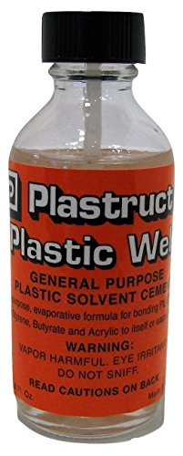 Plastruct Plastic Weld w/applicator 2oz Bottle