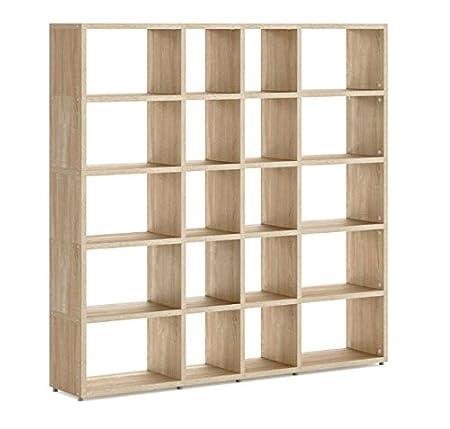 Exceptionnel Cube Storage Mix Oak