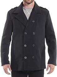 alpine swiss Mens Double Breasted Wool Peacoat Dress Jacket