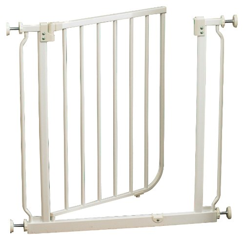 North-States-Supergate-Easy-Close-Metal-Gate-White