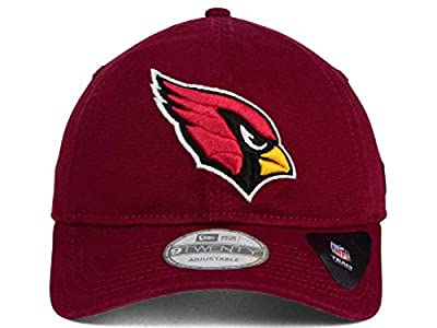 Arizona Cardinals Red Core Shore 9TWENTY Adjustable Hat / Cap from New Era