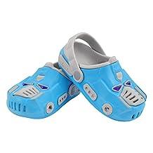 Ozkiz Girls Children Kids' Crocband Clogs Shoes of Various Patterned