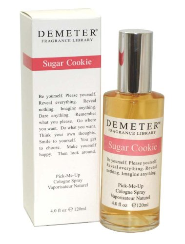 Demeter Sugar Cookie for Women, Pick-me Up Cologne Spray 4.0-Ounce DEM36W-P