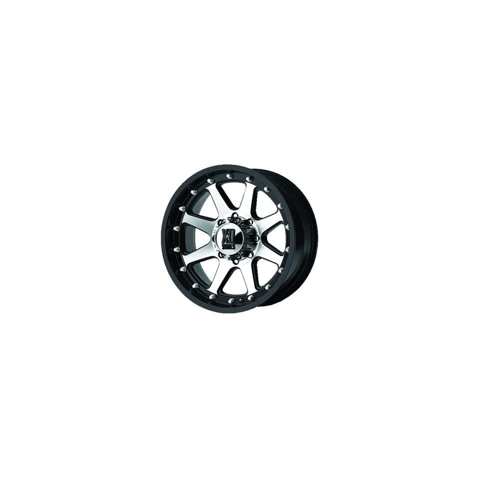 XD XD798 17x9 Machined Black Wheel / Rim 8x180 with a 18mm Offset and a 124.20 Hub Bore. Partnumber XD79879088518