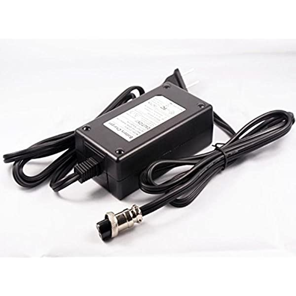 Output 24V w//Barrel Round Tip. NOT 3-Prong Connector. Accessory USA 24 Volt AC DC Adapter for Qili Power QL09005-B2401800H Energie Battery Charger Power Supply Cord
